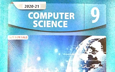 9th Computer Book New Syllabus Book English Medium fi